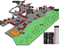 Copenhell map