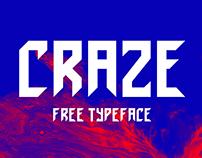 Craze - Free Typeface
