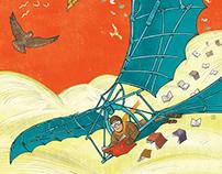 Illustration for the Fly Festival