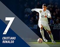 FIFA ONLINE 3 Real Madrid Event Banner Design