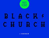BlackChurch - Free Font