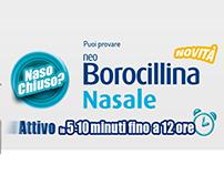 "Campagna Radio 20""        NeoBorocillina Nasale Spray."