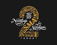 Alumni SMA 2 Malang 2003 Logo