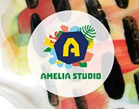 Amelia Studio Branding + Ceramics