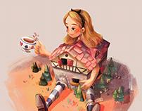 Alice in Wonderland fan art