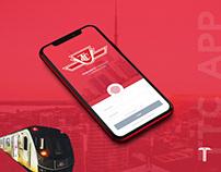 TTC Toronto - App design