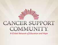 Cancer Support Community Brand Development