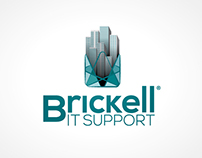 Brickell IT Support - Logo Design