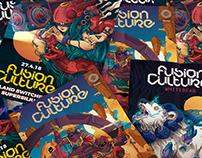 Fusion Culture / Poster Design 1-3