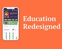 E-Learning platform: Teacher environment