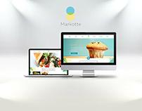 Web Design entry for Markotte