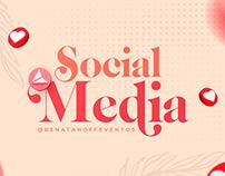 Social Media   Renata Hoff Eventos