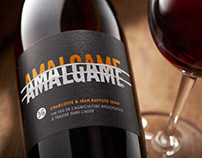 Amalgame Wine Label