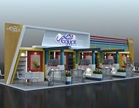 Egyptian Pavilion Concept Design - Gulf Food 2015.