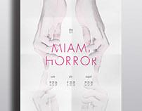 Miami Horror: Concert Tour Poster