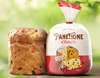 Panettone packaging design