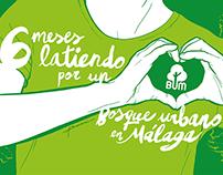 6 meses de Bosque Urbano Málaga