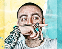 Mac Miller Instagram Project