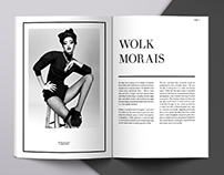 WOLK / fashion design magazine