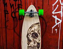 """""""Skull"""" Longboard"""