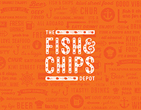The Fish & Chips Depot Branding