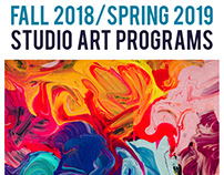 Studio Art Programs booklet for Appleton Museum of Art