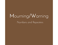 Mourning/Warning 2 artist's book