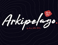 ARKIPELAGO - FREE INKY BRUSH SCRIPT