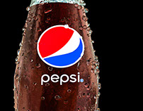 3D Pepsi Bottle -  Experiment