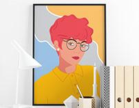 Portraits Illustrations