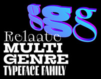 Relaate Typeface Family | Free Trials | Variable Font