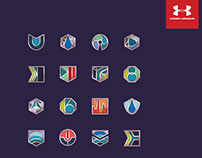 Conceptual Icon set for UnderArmour Headphone Packaging