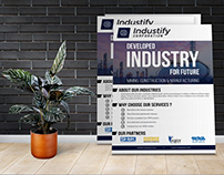 Industrial Flyer Template