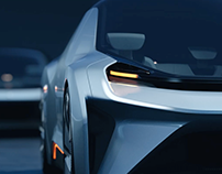 NextEv Concept Car Eve Launch Video