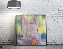 aerography rabbit