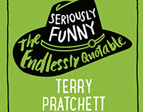 Bit of cheeky type for Terry Pratchett.