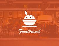 Adobe XD - Travel App // Foodtravel