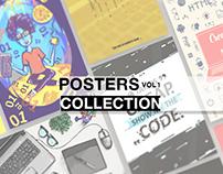 Development illustration posters