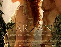 The Legend of Tarzan / fan art poster