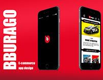 Bburago Web App Design & Prototype