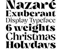 Nazare Exuberant Typeface