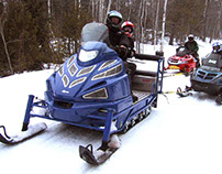 Advice for Staying Safe on a Snowmobile