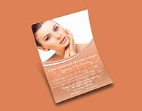 Skin Care Flyer.