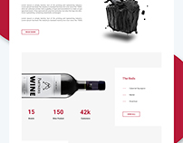 Wine eCommerce website development