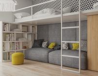 mieszkanie w Knurowie 2 | apartment in Knurów 2