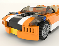Lego Sunset Speeder