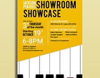 Jackson Pianos Poster
