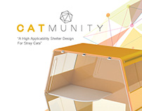 CATMUNITY - Shelter Design for Stray Cats