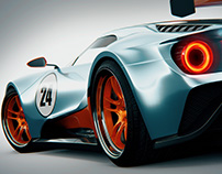 Ford GT 2016 Gulf Special