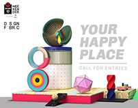 NH7 Weekender x Design Fabric - Your Happy Place